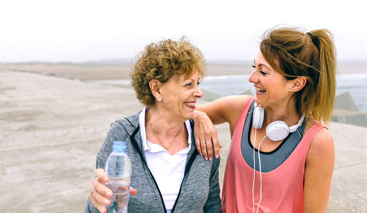 Buddy up – Benefits of exercising with a friend